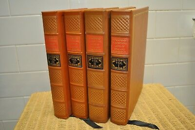 Blackstone's Commentaries Laws Of England 4 Vols
