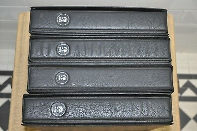 World Wildlife Fund (Wwf) 4 X Binders  Special Collection Stamps & Fdc's