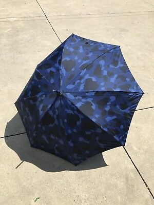 100% Authentic Bape Blue camo Umbrella one size Rare 2006 OG a Bathing Ape abc