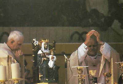 Vintage Postcard: The Walsingham Mass At Wembley With Pope (St) John Paul Ii