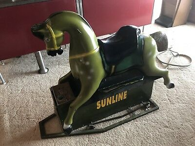 Coin Operated Horse Ride Vintage 1940s 1950s