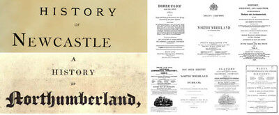 eBooks: 75 of. Newcastle & Northumberland History. Directories Included, PDF