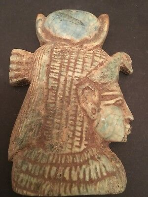 Rare Ancient Egyptian Queen Cleopatra  Amulet ( m. 36 BC-30 BC)