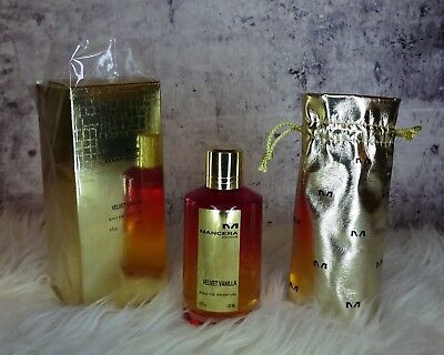 Mancera Velvet Vanilla 110 ML, With Box And Pouch Read Text For Shipping Cost