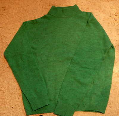 Pringle schottische Vintage Turtleneck Pullover, 100% Wolle, neu