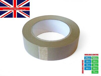 Picture Framing Self Adhesive Brown Craft Professional Frame Backing Tape 50m