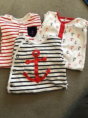 Next Baby Boys Sleepsuits 0-3 Months