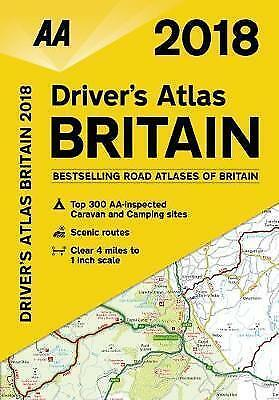 AA Driver's Atlas Britain: 2018 by AA Publishing (Paperback, 2017)
