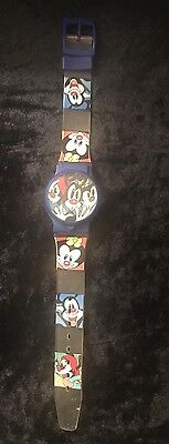 VINTAGE Animaniacs 90's Warner Bros. Collectable RARE Watch