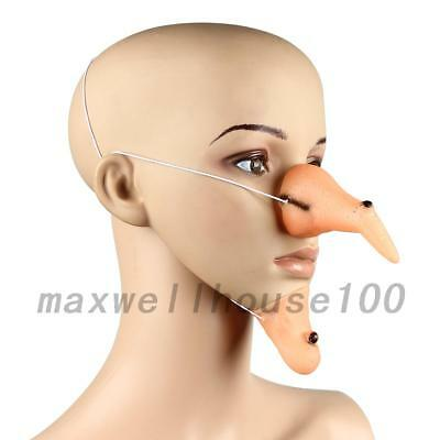 Cosplay Wicked Nose Chin Scary Halloween Decoration Props Costume Creative