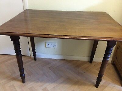 Antique table, useable but needs tlc