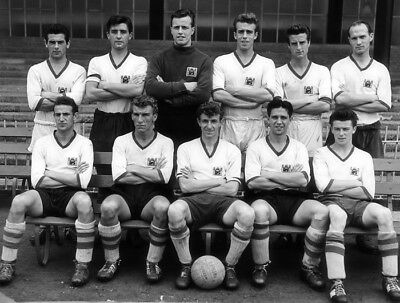 CP-056 : 8x6 PHOTO - CRYSTAL PALACE 1957 inc CHOULES ROUSE BYRNE