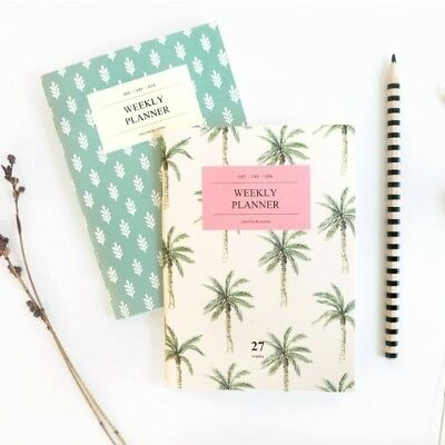 New Iconic A6 Weekly Planner Scheduler Organizer Journal Diary