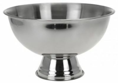 Large Stainless Steel Drinks Fruit Ice Cooler Champagne Bucket Bowl Holder