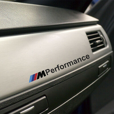 2x M PERFORMANCE STICKERS M POWER BMW DECALS M3 E46 E30 BIMMER