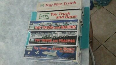 (5) HESS TRUCK LOT Excellent to MINT condition