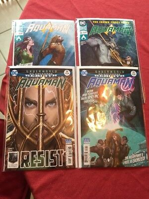 Aquaman #29 30 31 32 DC Comics Rebirth