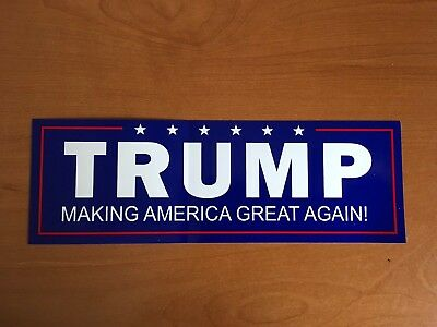 ONE Trump MAGA New Style!!  MAKING AMERICA GREAT AGAIN bumper Sticker