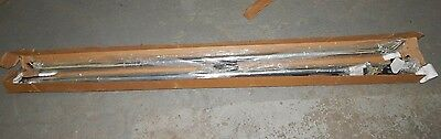 New OEM 1999-2004 Ford F-250 F-350 Rear Long Bed Rail Assembly Chrome
