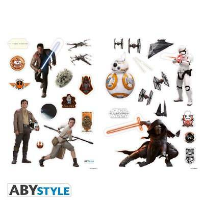 [GIW]  Abystyle STAR WARS - Stickers - 100x70cm - The Force Awakens (blister)
