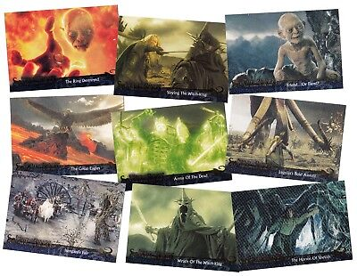 The Lord Of The Rings Return Of The King - A Topps 2004 2Nd Ser Trade Card Set
