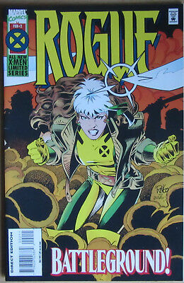 Rogue #2 Marvel Comics Limited Series 1995 Embossed Cover X-Men