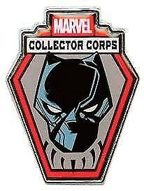 [GIW]  Funko Marvel Comics POP! Pin Badge Collector Corps Black Panther