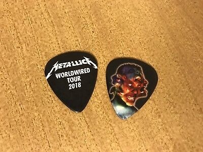 Metallica BLACK Worldwired 2018 Guitar pick! Brand New!