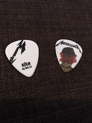 Metallica - Cologne Guitar Pick September 16th! Worldwired Tour 2017 + Bonus