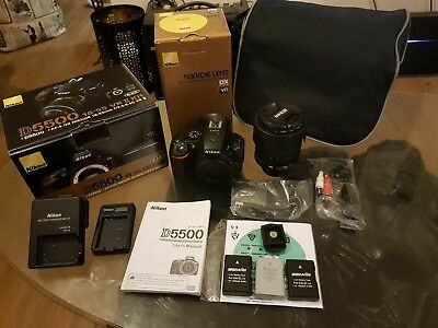 Nikon D5500 with Nikkor 18-105mmf/3.5-5.6 Ed VR *Great Bargain*