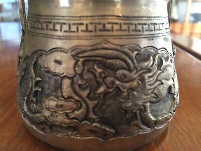 Cambodian 0.999 Silver Baskets (Two) Khmer Traditional Style - 254 to 280 Grams