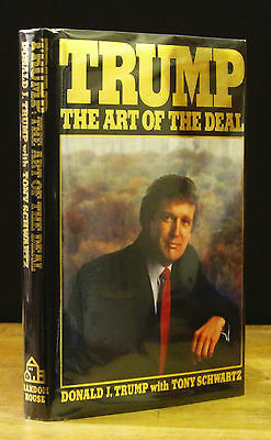 Trump the art of the deal by donald trump first edition 1987 trump the art of the deal 1987 donald trump signed 1st edition early fandeluxe Choice Image