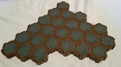 Heroscape terrain hex lot, Rock, battlefield, expand your arena