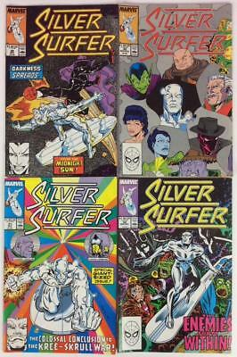 Silver Surfer #29,30,31 & 32 (Marvel 1989) 4 x issues