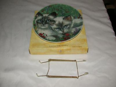 "Formalities Cats Collector Series ""country Cat"" W/ Wall Hanger Baum Bros."