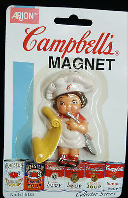Lot of 2 Campbell's Soup Company Magnets CAMPBELL KIDS
