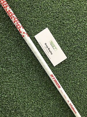 Fujikura ATMOS TS Red 7s Brand New Uncut Shaft Free Adapter And Grip