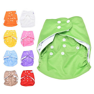 Sweet  Reusable Baby Washable Cloth Diaper  +1INSERT pick color LJ