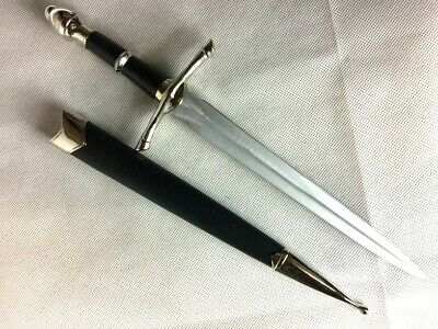 Lord of the Rings Knights Medieval Dagger /w Scabbard LOTR