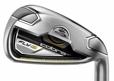 Cobra Fly Z No. 4 Iron - Regular Flex - Steel Shaft - Mens Right Hand - New!
