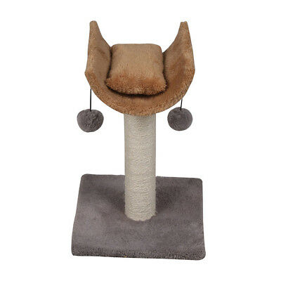Cat Scratching Tree Scratcher Activity Kitten Climbing Toy Funiture Scratch