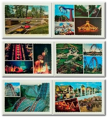 "1970's KINGS ISLAND Amusement Theme Park (Cincinnati) Unposted POSTCARD, 4"" x 6"""