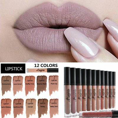 Popular Waterproof NYX Lipstick Lingerie Matte Long-Lasting Liquid Lip Gloss
