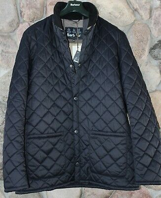 Barbour Jacket Coat Pembroke Quilt MQU0856NY91 Navy New  XX-Large XXL