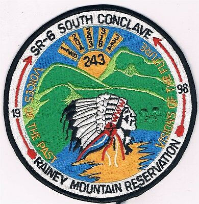 Large Patch SR-6 South Conclave 1998 Rainey Mountain Reservation 400374