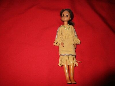 Vintage 1973 Sun Shine Family Native American Doll.