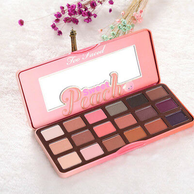 18 Colors Makeup Beauty Sweet Juicy Peach Eye Shadow Collection Palette hot