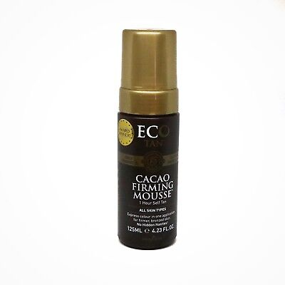 ON SALE! ECOTAN Organic Cacao Firming Self Tanning Mousse