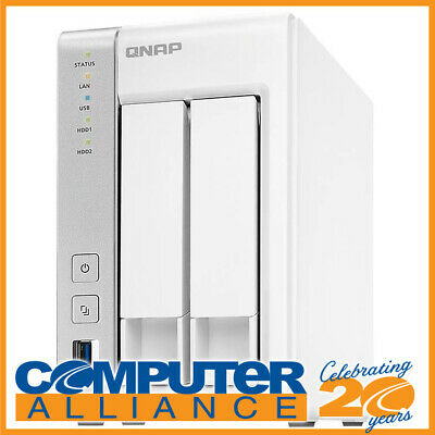 2 Bay QNAP TS-231P Gigabit NAS Unit