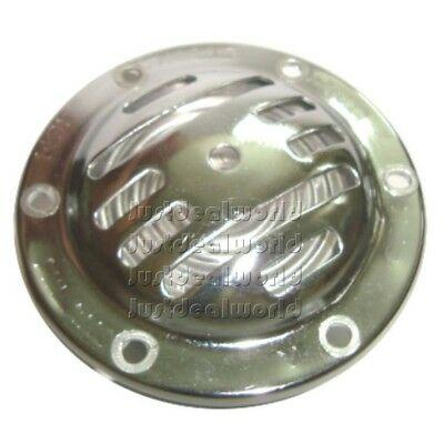 Brand New Chromed Horn Ac 6 Volt Finished For Vespa Primavera Models